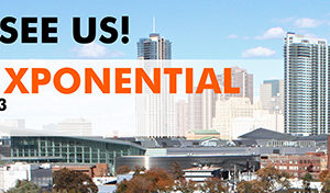 AUVSI Xponential booth #4225, April 30 – May 3