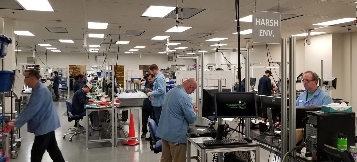 Fiber Optic Manufacturing at Timbercon