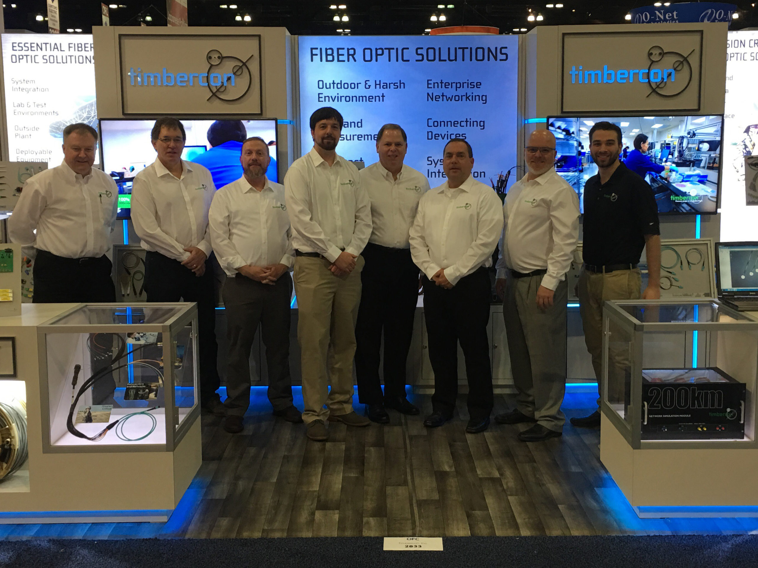 Timbercon Announces New Capabilities at OFC 2017