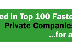 Timbercon Named Top 100 Fastest Growing Private Company for a 10th Time