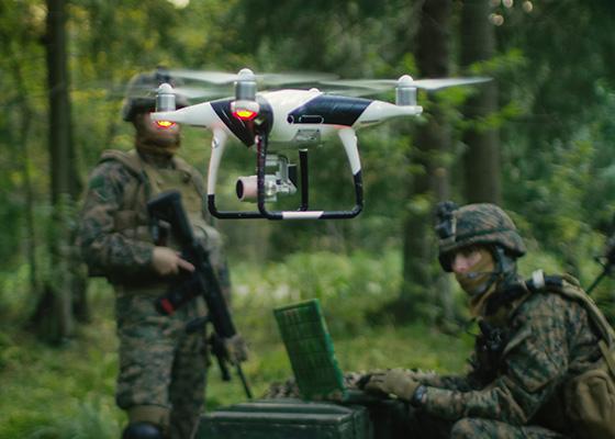 Fiber Optics for Unmanned Aerial Vehicles (UAV)