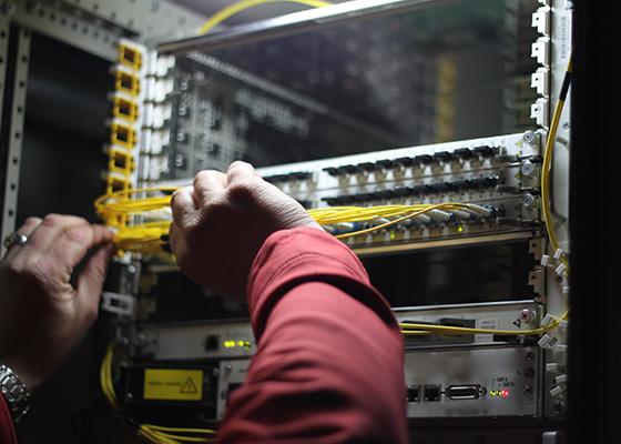 Fiber Optics for Network Equipment