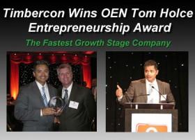 Timbercon Wins the OEN Tom Holce Entrepreneurship Award