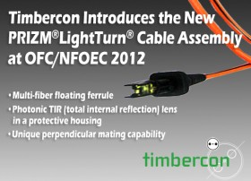 Timbercon Announces the New PRIZM® LightTurn® Cable Assemblies