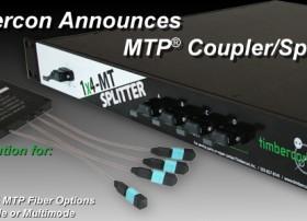 Timbercon Announces MTP® Coupler/Splitters