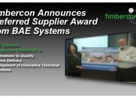 Timbercon Announces Preferred Supplier Award from BAE Systems