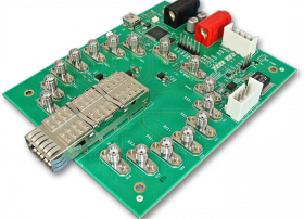 Timbercon's Host Test Board Provides Comprehensive Testing of QSFP/QSFP+ Transceivers