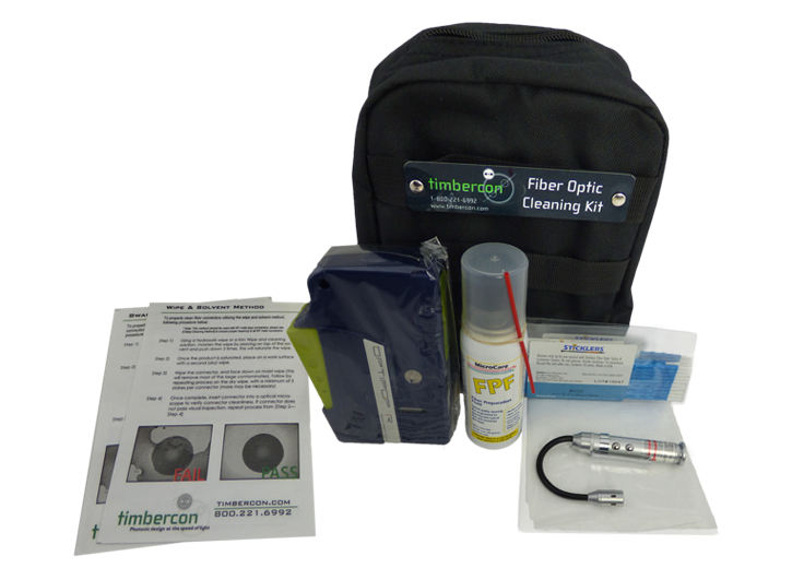 Timbercon Announces New Fiber Optic Cleaning Kits!